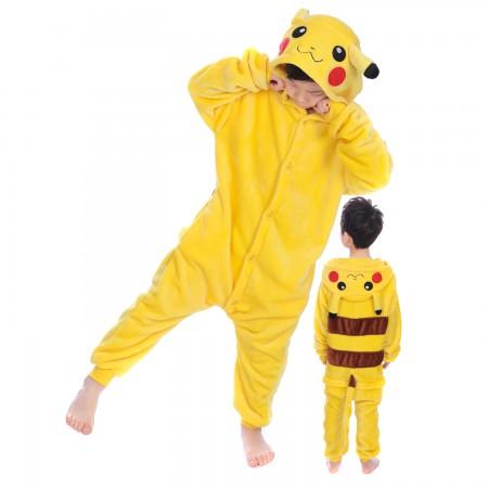 Pikachu Onesie Costume for Kids