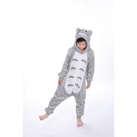 animal kigurumi grey Totoro onesie pajamas for kids