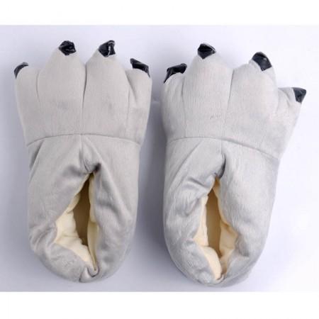 Grey Animal Onesies Kigurumi slippers shoes