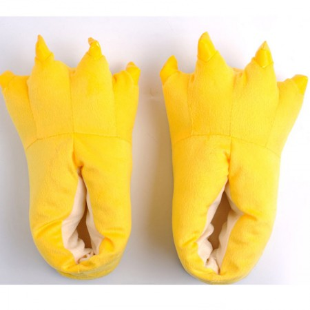Yellow Animal Onesies Kigurumi slippers shoes