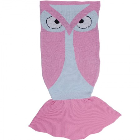 Owl Sleeping Bags Soft and comfortable flannel fabric