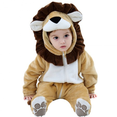 Lion Onesie for Baby Romper Toddler Costume Outfit