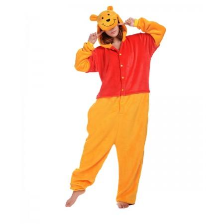 Winnie the Pooh Kigurumi Onesie Pajamas Animal Costumes For Women & Men
