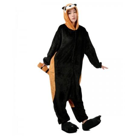 Red Panda Kigurumi Onesie Pajamas Animal Costumes For Women & Men
