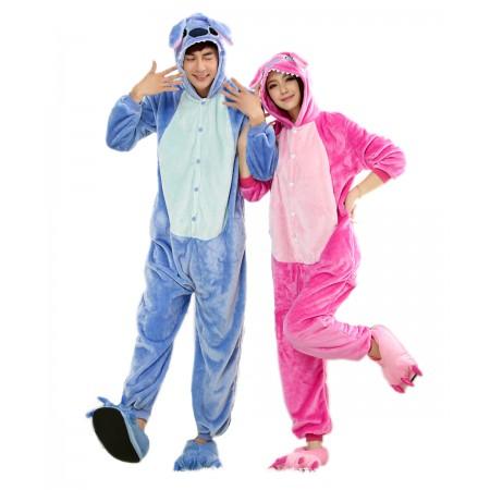 Stitch Onesie Pajamas Animal Costumes For Women & Men