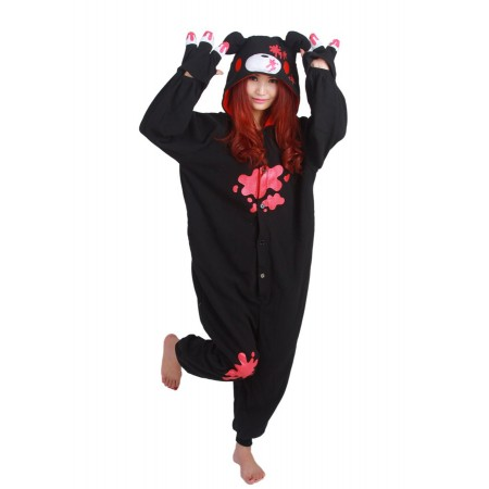 Black Gloomy Bear Kigurumi Onesie Pajamas Animal Costumes For Women & Men