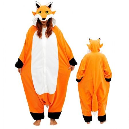 Fox Onesie Pajamas Kigurumi Animal Costumes For Adult