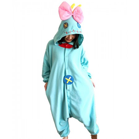 Lilo & Stitch Scrump Onesie Pajamas Animal Costumes For Women & Men