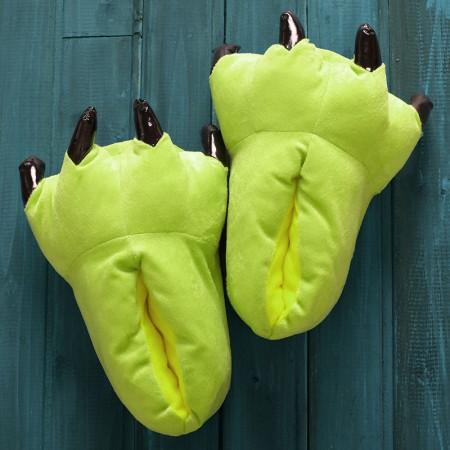 Fluorescent Green Animal Onesies Kigurumi slippers shoes