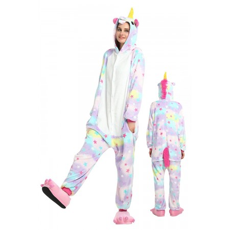 Pastel Dream Unicorn Kigurumi Onesie Pajamas Animal Costumes For Women & Men