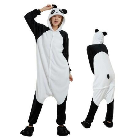 Panda Onesie for Adult Kigurumi Animal Pajamas Funny Halloween Costumes