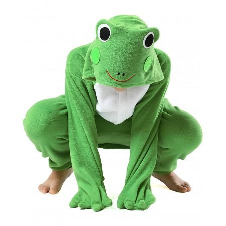 Kids Frog Onesie Costume for Boys & Girls Unisex Style