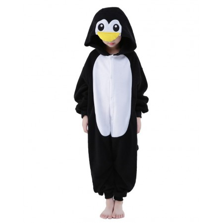 Penguin Kigurumi Onesie Pajamas Animal Costumes for Kids