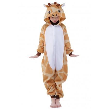 Giraffe Kigurumi Onesie Pajamas Animal Costumes for Kids