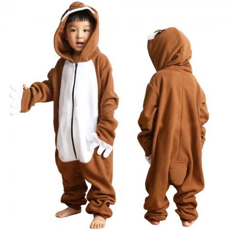 Kids Sloth Onesie Pajamas Animal Costumes for Boys & Girls Zip Up