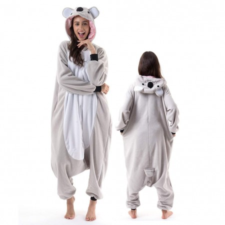 Koala Costume Onesie Pajamas For Unisex