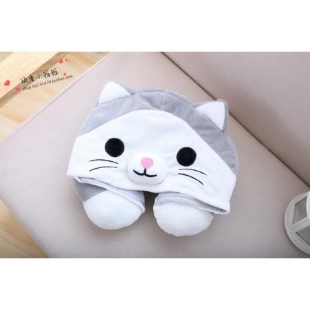 Cute Cat Neck Pillow