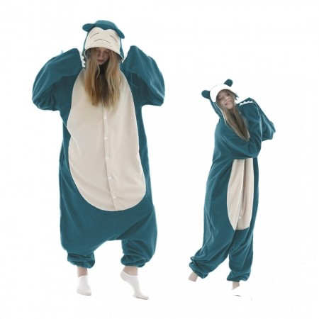 Snorlax Onesie Costumes For Adult & Teens