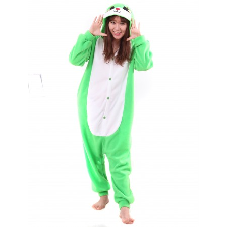 Green Rabbit Kigurumi Onesie Pajamas Animal Costumes For Women & Men