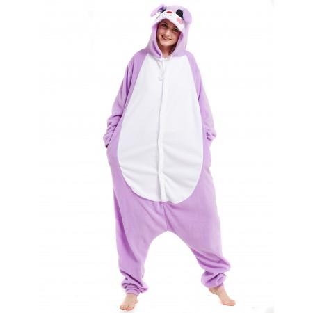 Purple Rabbit Kigurumi Onesie Pajamas Animal Costumes For Women & Men