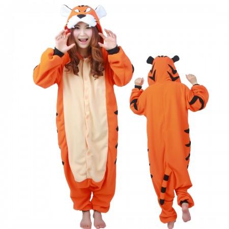 Tiger Onesie Costume Pajamas For Unisex
