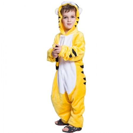 Yellow Tiger Kids Onesie