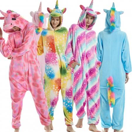 Unicorn Costume Onesie Pajamas Unicorn Outfit For Women & Men
