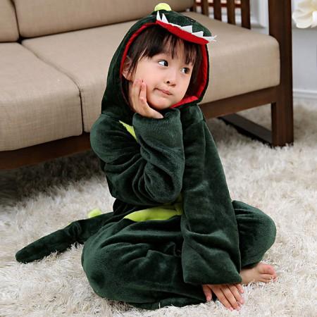 Dinosaur Onesie Pajamas Animal Kigurumi Costumes for Kids