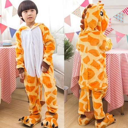 Giraffe Onesie Pajamas Animal Kigurumi Costumes for Kids