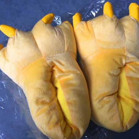 Yellow Animal Onesies Kigurumi shoes