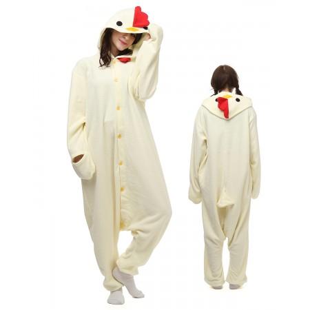 Chicken Onesie Pajamas Animal Costumes For Adult