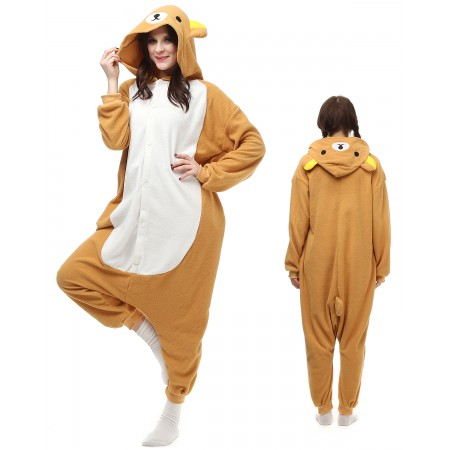 Rilakkuma Kigurumi Onesie Pajamas Animal Costumes For Adult