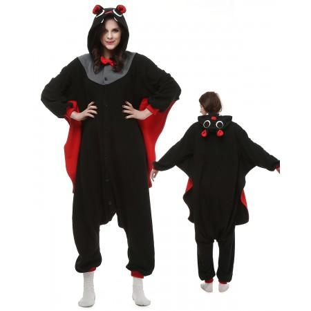 Bat Kigurumi Onesie Pajamas Animal Costumes For Adult