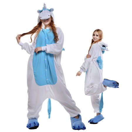 Unicorn Kigurumi Onesie Pajamas Animal Costumes For Adult