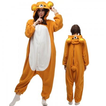 Rilakkuma Onesie Costume Pajamas For Unisex
