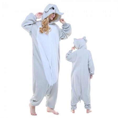Adult Elephant Onesie Pajamas Animal Costumes For Women & Men