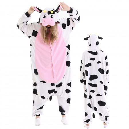 Adult Cow Onesie Pajamas Animal Costumes For Women & Men