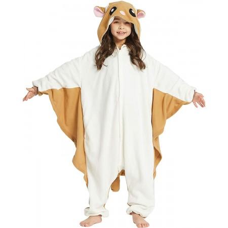 Kids Flying Squirrel Onesie Costume for Girls & Boys Unisex