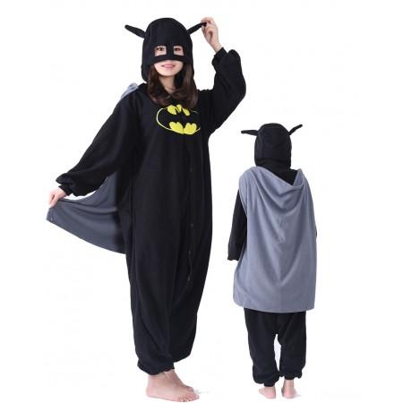 Batman Onesie Costume For Women & Men Unisex