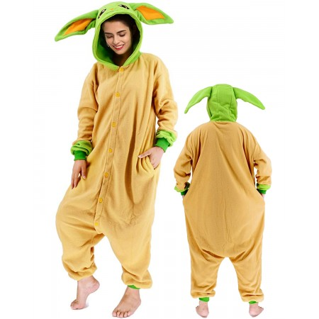 Baby Yoda Onesie Costume For Women & Men Unisex