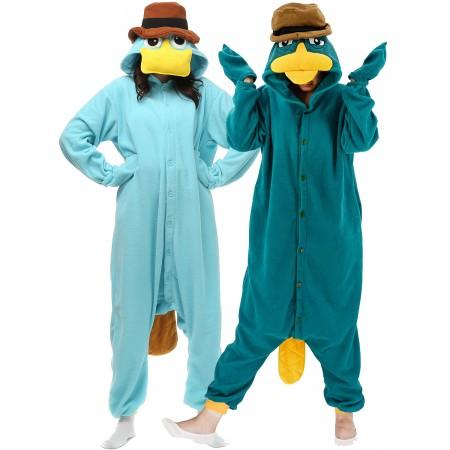 Perry the Platypus Onesie Costume For Women & Men Unisex Style
