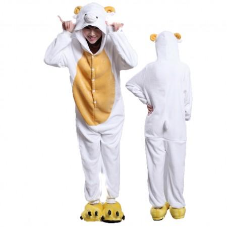 Sheep Onesie Animal Halloween Costumes for Women & Men