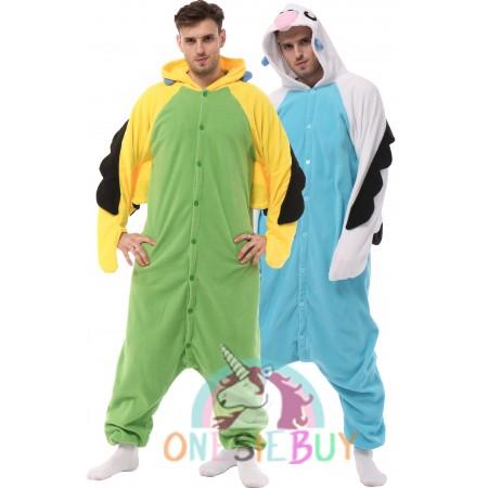 Macaw Onesie For Adult Animal Costumes Women & Men